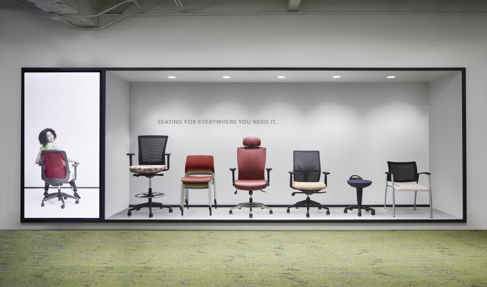 Preview of Chicago Showroom Seating Display 2019