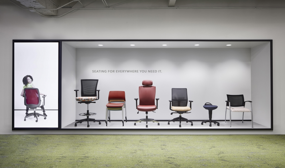 Preview of Seating display NeoCon 19