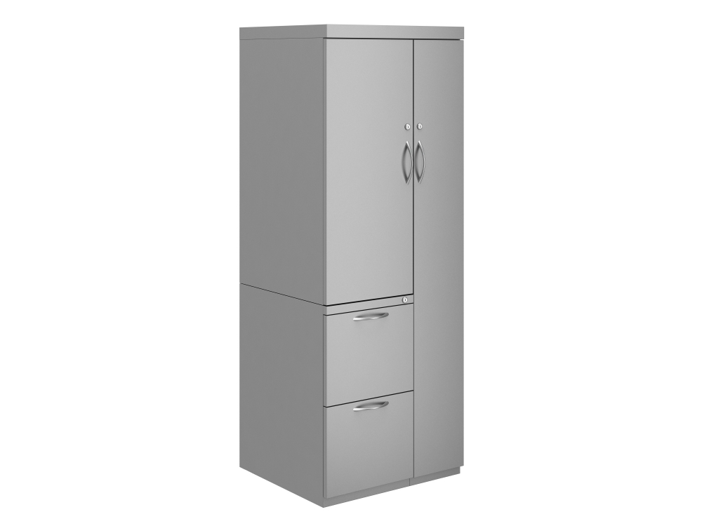 Preview of L Series Steel Storage Wardrobe Tower with Cupboard
