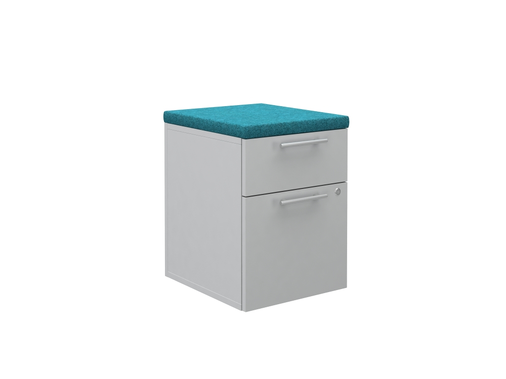 Preview of Calibrate Series Storage 18 inch deep B/F Pedestal without casters