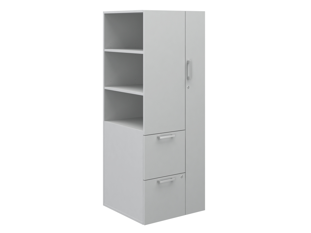 Preview of Calibrate Series Storage Tower with Wardrobe