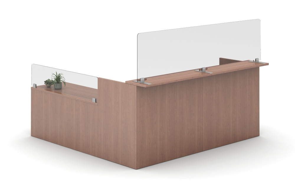 Preview of Calibrate Reception Station with Freestanding Lexan Clip Supported Screens