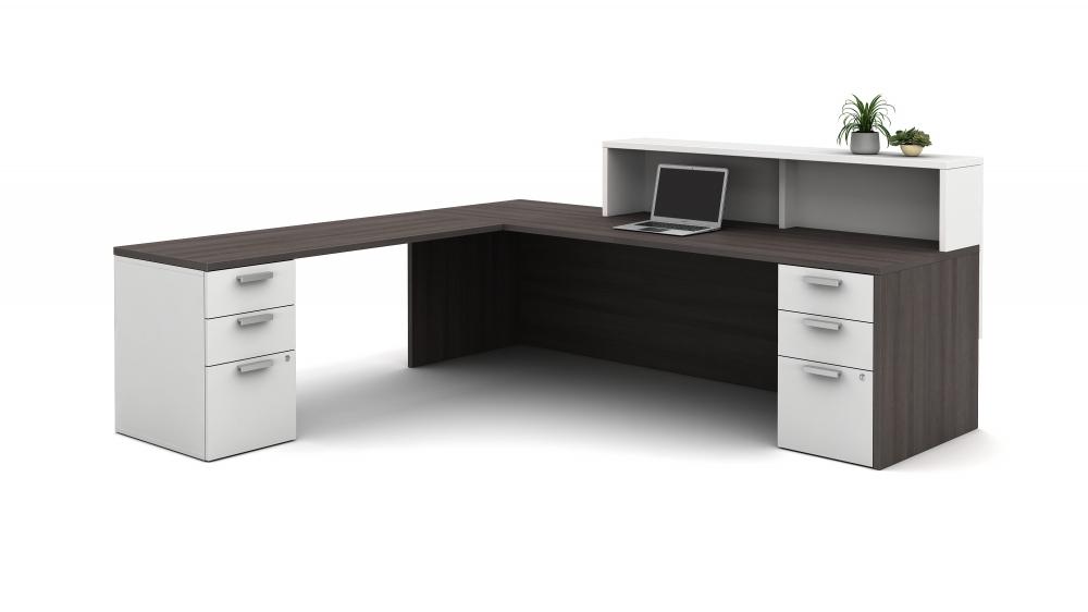Preview of Calibrate Laminate Casegoods Reception Station, interior view