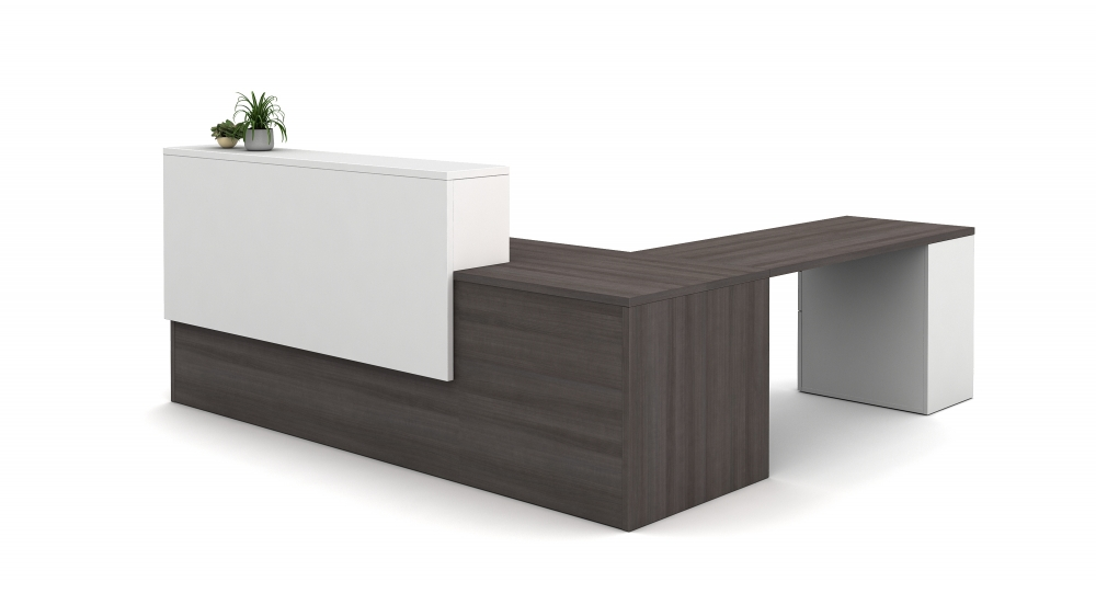 Preview of Calibrate Laminate Casegoods Reception Station