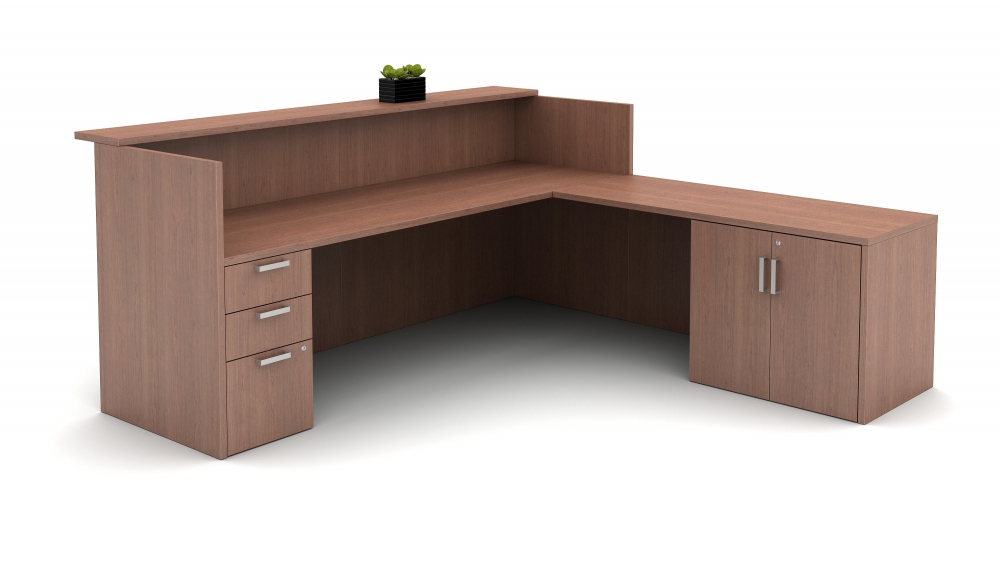 Preview of Calibrate Laminate Casegoods Reception Station Inside View