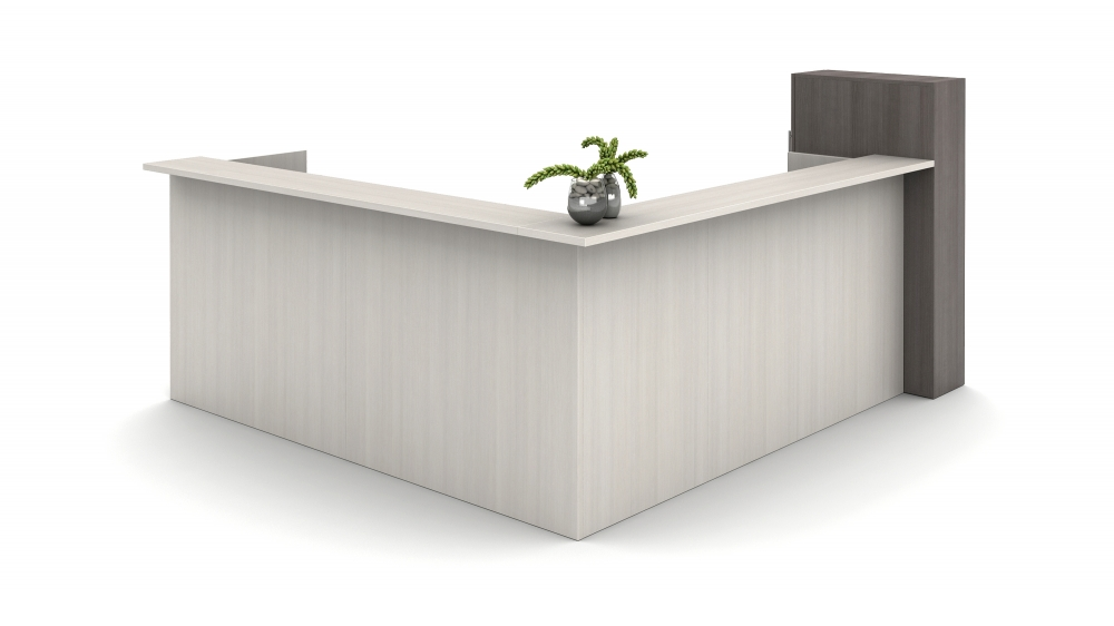 Preview of Calibrate Laminate Casegoods Reception Station, exterior view