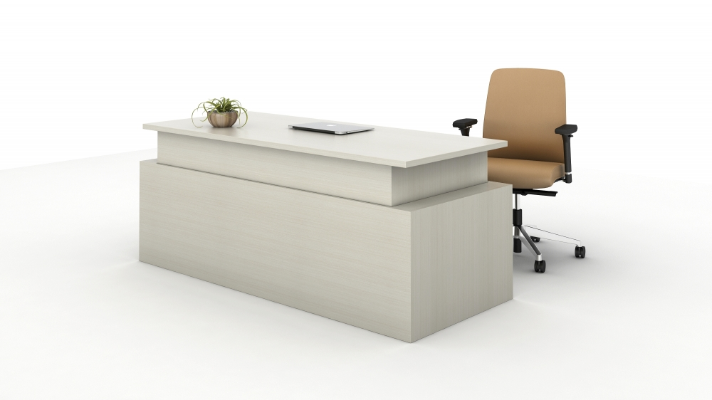 Preview of Calibrate Casegoods Telescoping Height Adjustable Executive Desk