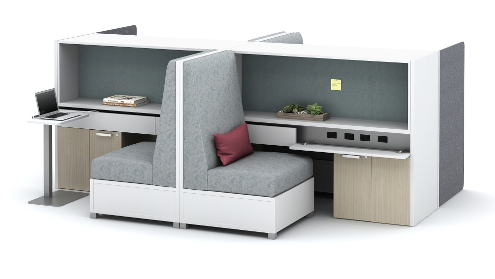 """Preview of Calibrate Community with LB Single Seat integration, Laptop Table and power at 26"""" Floorplate Area 9a"""