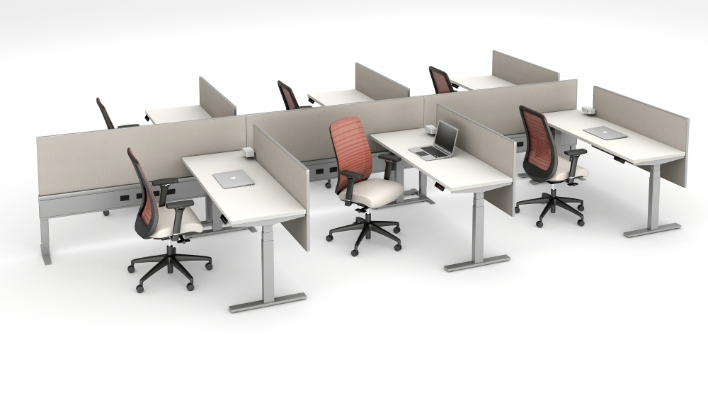 """Preview of Day-to-Day 21"""" High PowerBeam Six pack with seating"""