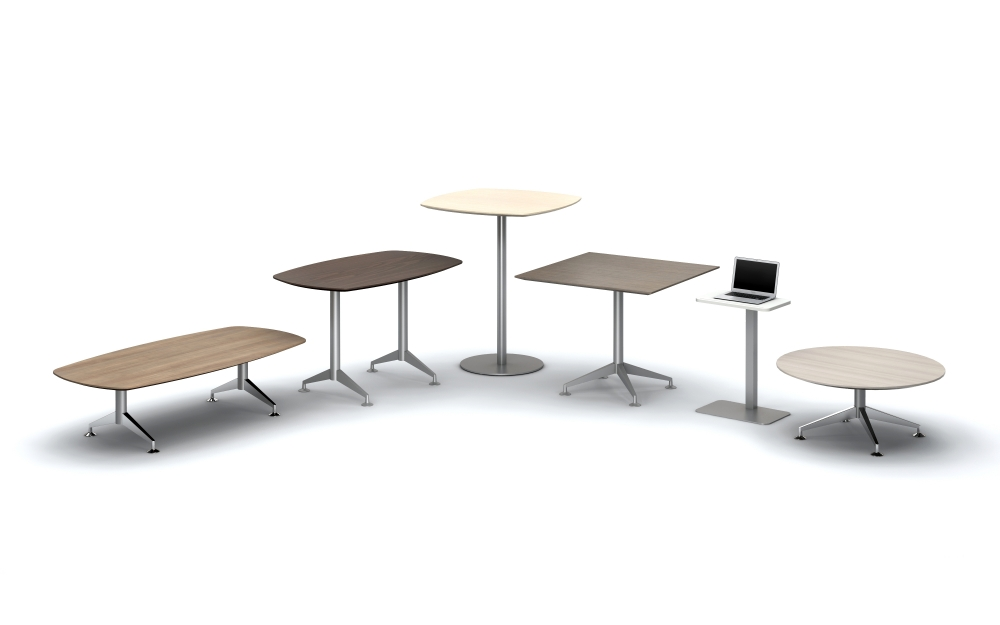 Preview of Day to Day Tables in a Variety of sizes and bases with Laptop Table