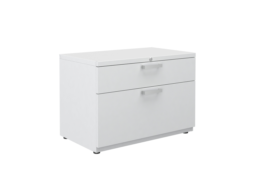 """Preview of L Series Steel Storage 30"""" Wide B/F Lateral File on feet"""