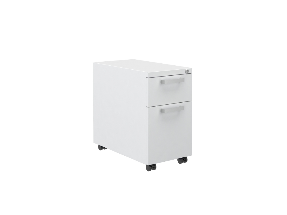 """Preview of L Series Steel Storage B/F 12"""" Pedestal on Casters"""