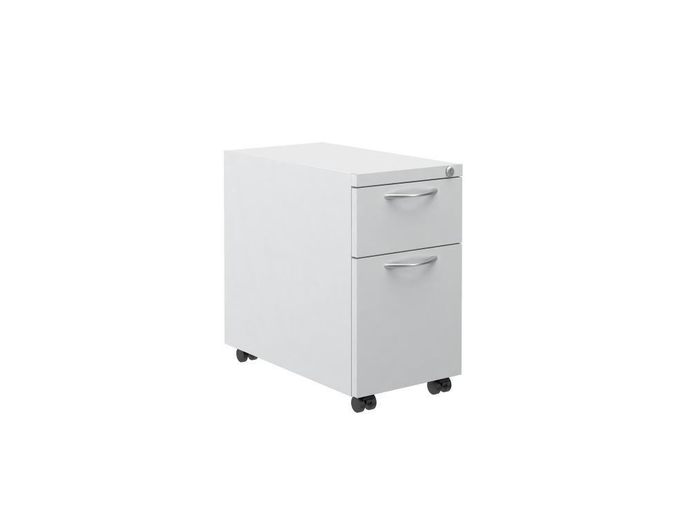 "Preview of L Series Steel Storage B/F 12"" Pedestal on Casters"