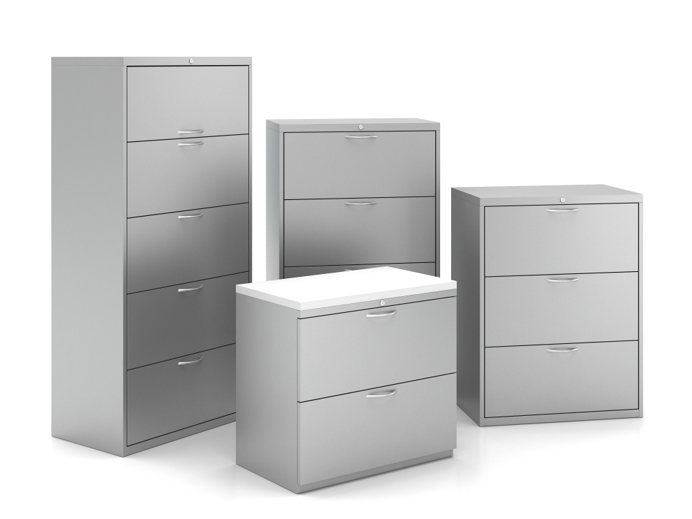 Preview of L Series Lateral Storage Family with Loop Pulls