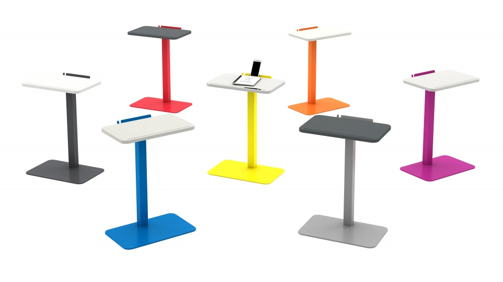 Preview of Laptop Table in a Rainbow of Colors