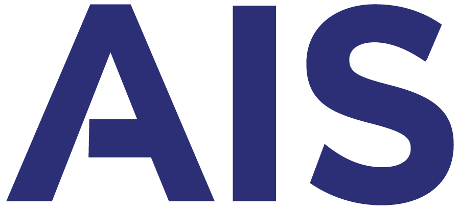 Preview of AIS Logo in Blue