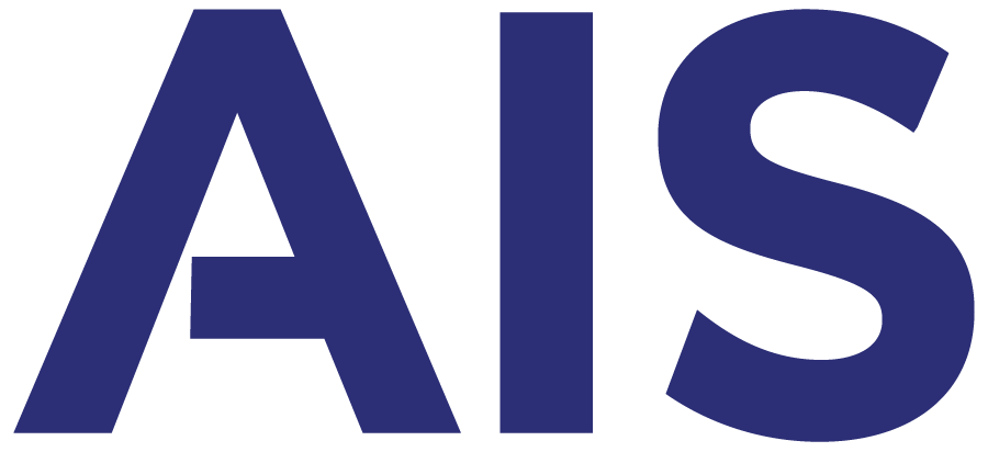 Preview of AIS Blue Logo with Translucent Background