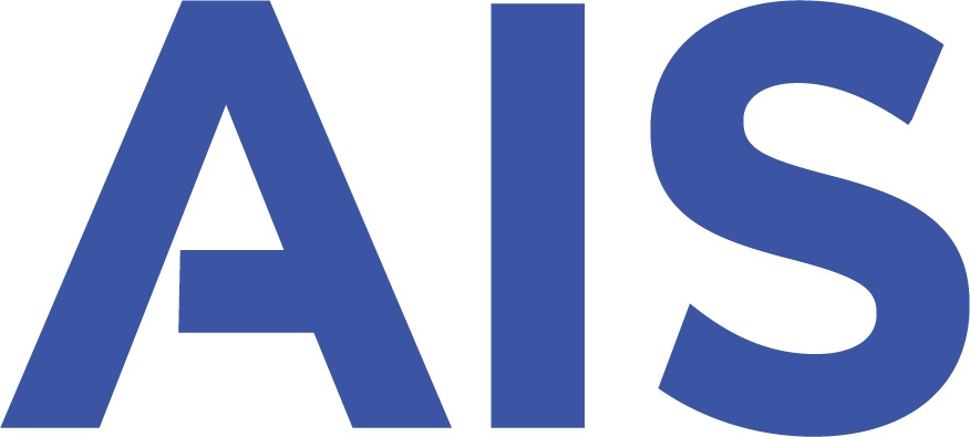 Preview of AIS Logo in Lighter Blue