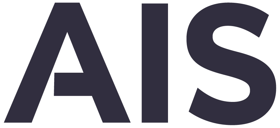 Preview of AIS Logo in Navy