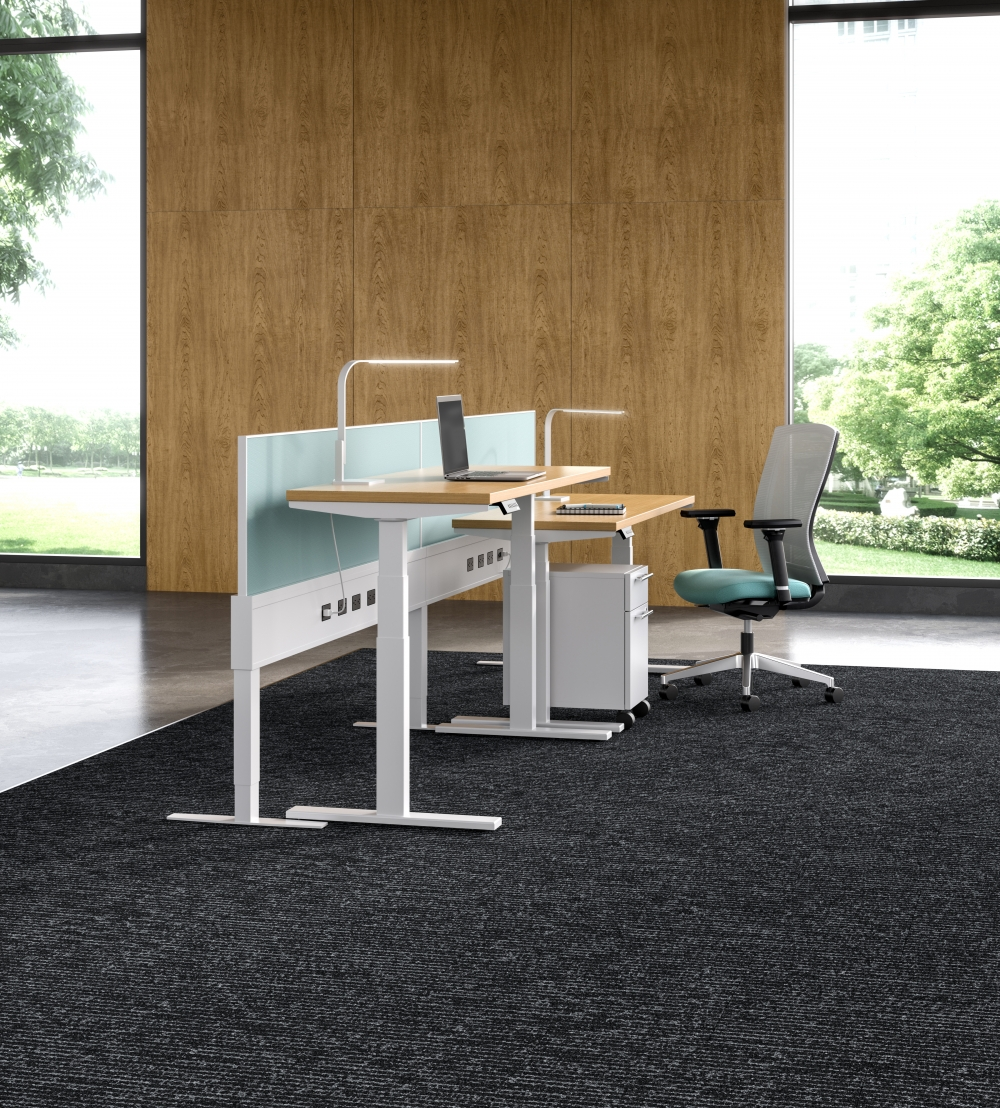 """Preview of Day-to-Day 25"""" Straight PowerBeam with Height Adjustable Tables"""