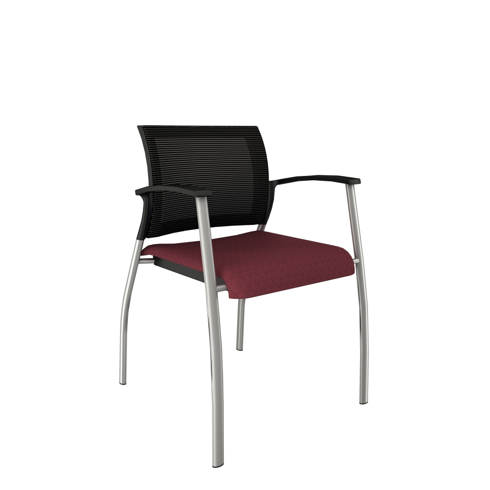 Preview of Grafton with Silver Frame and Guilford Beehave Seat in Plum