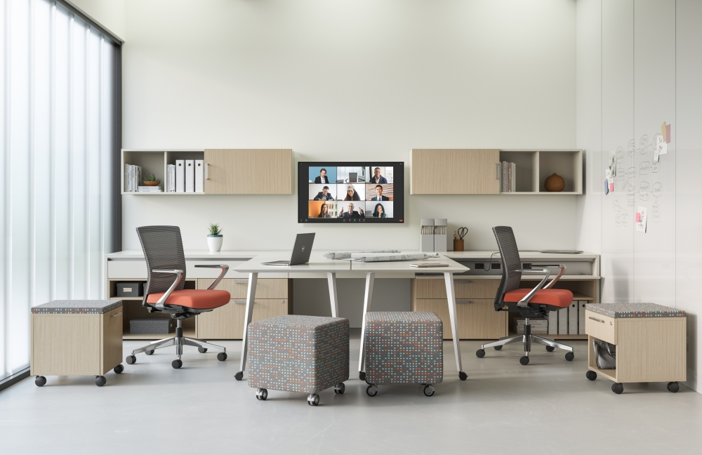 Preview of Calibrate Community Shared Office as Adaptable Conference Room