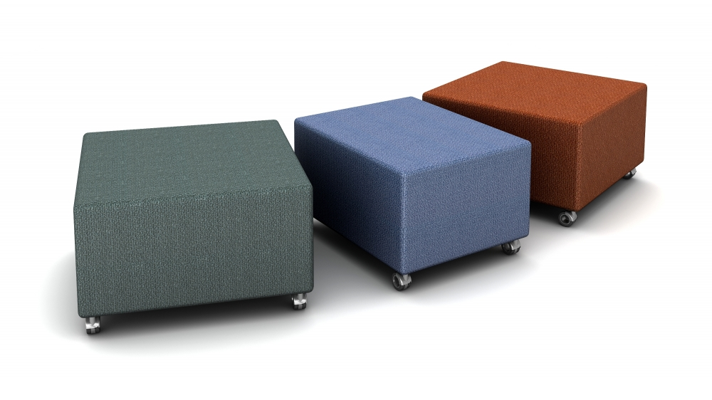 Preview of LB Ottoman with Casters