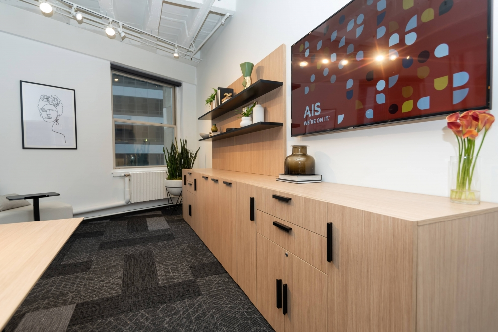 Preview of NeoCon 2021 Calibrate Storage Buffet and L Shelves