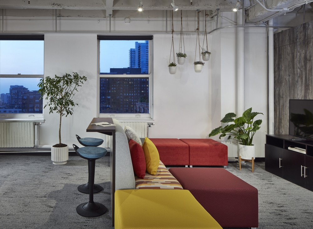 Preview of Chicago Showroom LB Lounge and Rutland Stools NeoCon 19