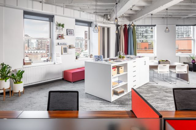 2019 NeoCon Showroom Shots, CMF Center