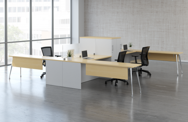 Calibrate Open Plan Office with Upton Seating