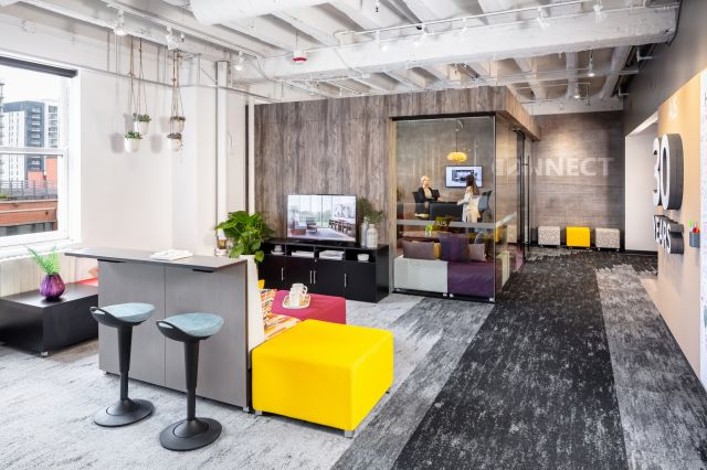 2019 NeoCon Showroom Shots, LB Lounge and Rutland