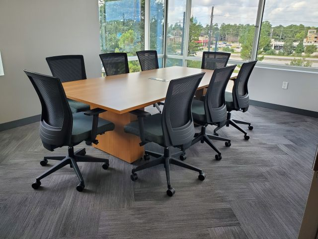 Client Site, Calibrate Series Conference Table with Upton Seating