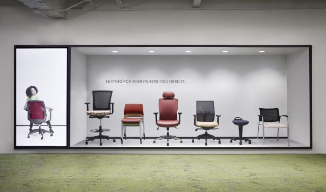 Seating display NeoCon 19