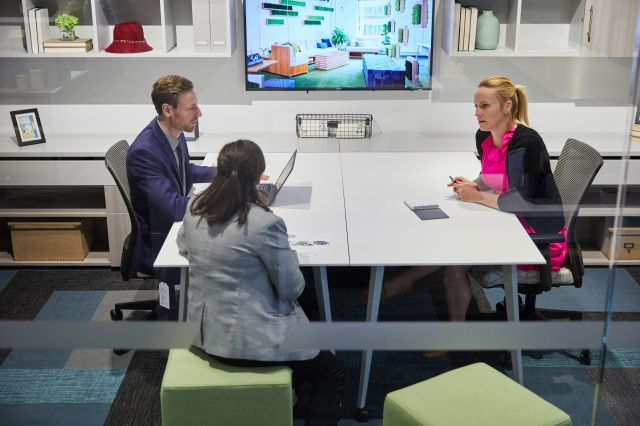 Calibrate Community Collaborative Office with Tables Together