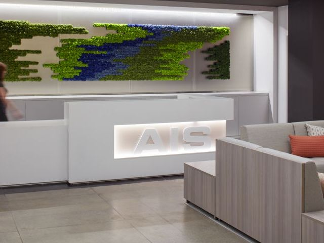 AIS New York Showroom Reception