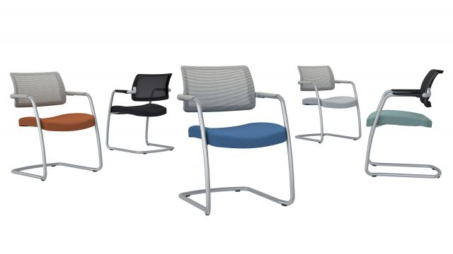 Devens Side Seating with multiple upholstery options