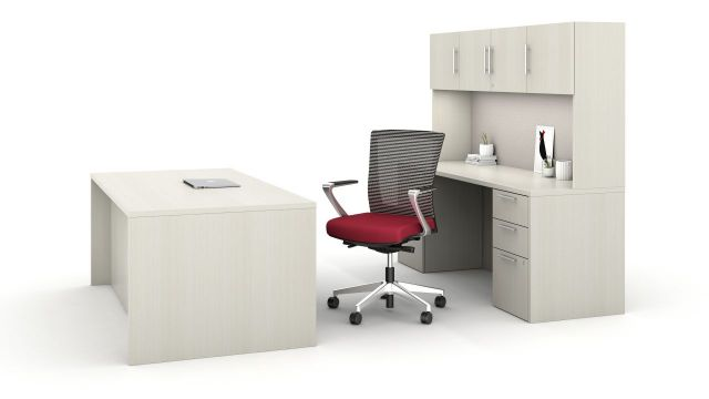 Calibrate Private Office including Upton with Fixed Aluminum Arm