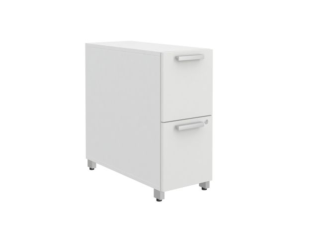 Calibrate Series Storage 12F/F Pedestal on Casters