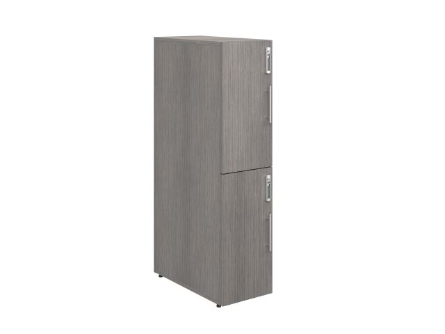"Calibrate Series Storage Two-High 50"" Locker, 3/4view"