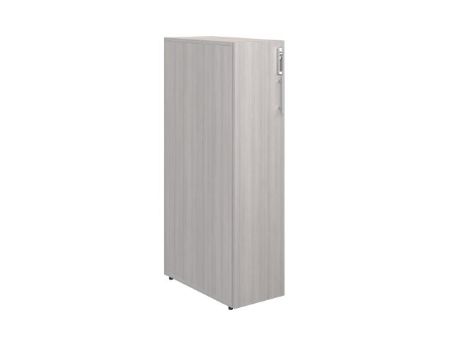 "Calibrate Series Storage 50"" Single Tower, 3/4 view"