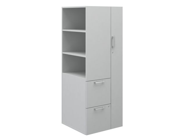 Calibrate Series Storage Tower with Wardrobe