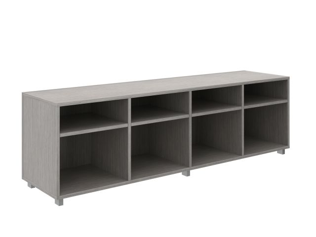 Calibrate Series Storage Bookcase on Feet