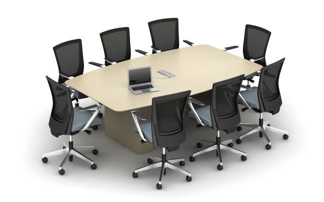 Calibrate Conference Table with Power