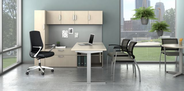 Calibrate Countdown Private office with Auburn Executive Seating