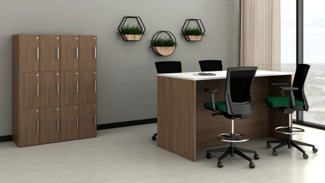Calibrate End Panel Table with Calibrate Storage Towers
