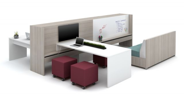 Calibrate Community Small Meeting Area with White board and LB Lounge