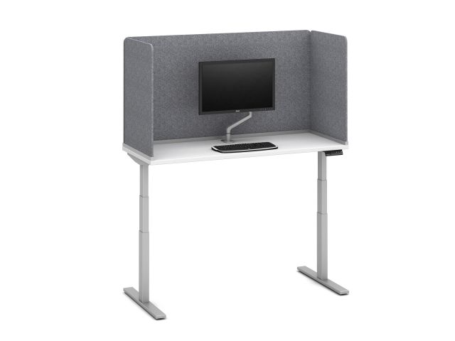 """PET Channel Supported Screen, surface-mount, 32"""" H"""