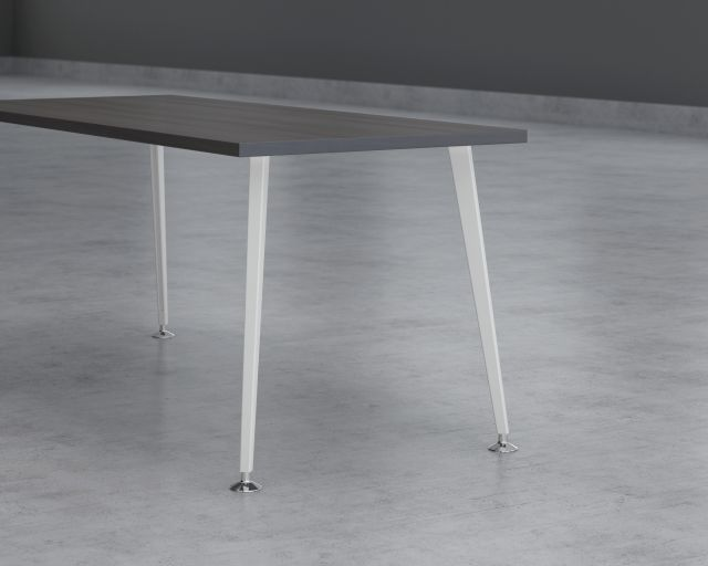 Tapered/Angled Post Leg Detail for Day-to-Day Tables and Calibrate Run-offs