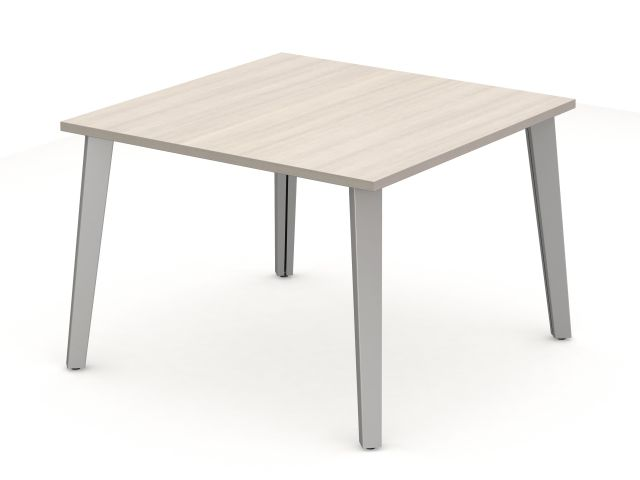 Day to Day Square Table with Slant Post Legs